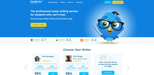 Edubirdie Review [4.4/10]: Is it Worth Your Time and Money? [2021]