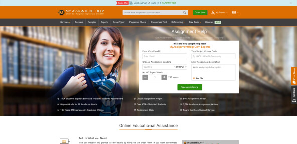 MyAssignmentHelp Review [6.3/10]: Is Myassignmenthelp Fake or Legit?