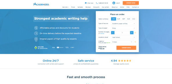 Academized Review [3.5/10]: Is Academized Legal or Fake?