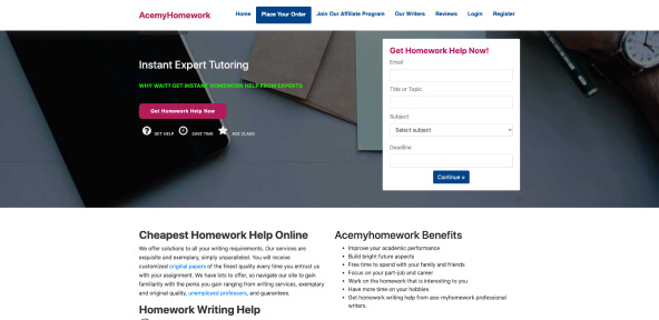 AceMyHomework Review [4.9/10]: How is It Safe and Credible?