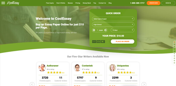 Coolessay.net Review [6.1/10]: Is CoolEssay Trustable or Fraud?