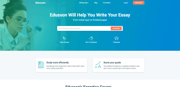 Edusson Review [3.1/10] – Is This Bidding Writing Company Safe?