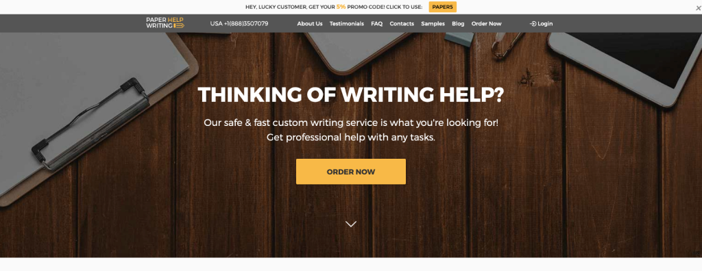 PaperHelpWriting Review [10/10]: How Good This Company Is?