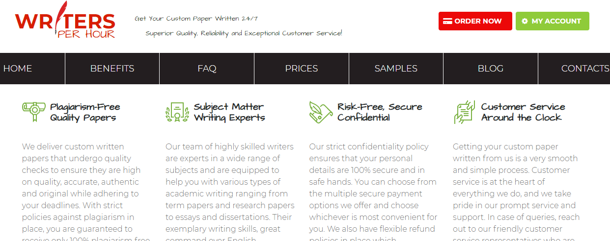 Writersperhour Review[3.5/10]: Personal Experience With The Service [2021]