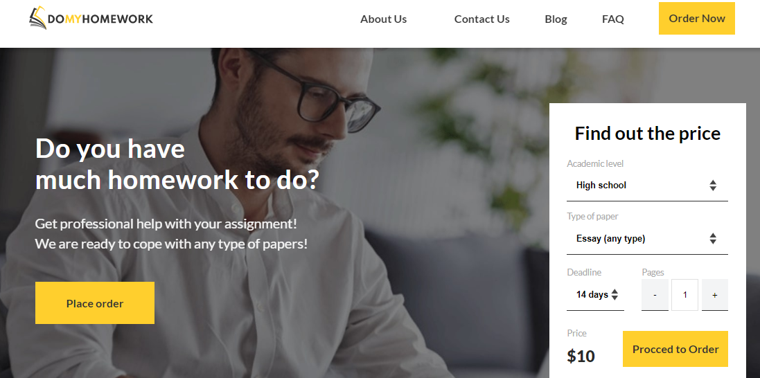 DoMyHomework Review [9.3/10]: Can You Trust Them? [2021]