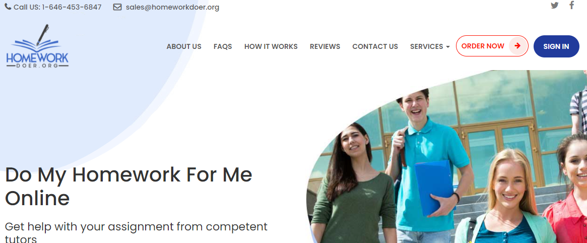 Homeworkdoer Review[3.8/10]: How Helpful This Company Is? [2021]